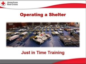 American Red Cross Shelter Training - NEK MRC @ St. Johnsbury Office of Local Health