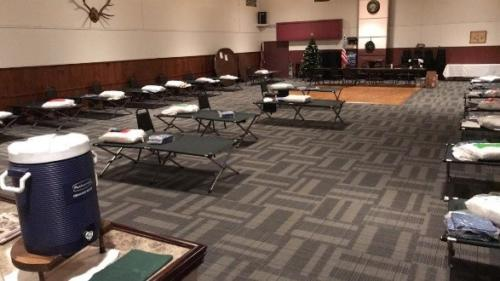 Rutland Extreme Cold Weather Shelter 1